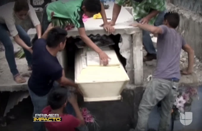 Family Destroys Dead Teen's Tomb After Hearing Banging Coming From Inside Coffin