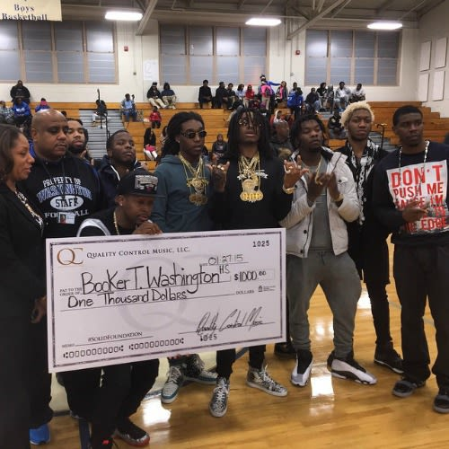 Migos Donated $1,000 to Their Old High School and Twitter ...