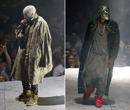 Maison Martin Margiela Supplied All of Kanye West's ... Kanye West Yeezus Concert