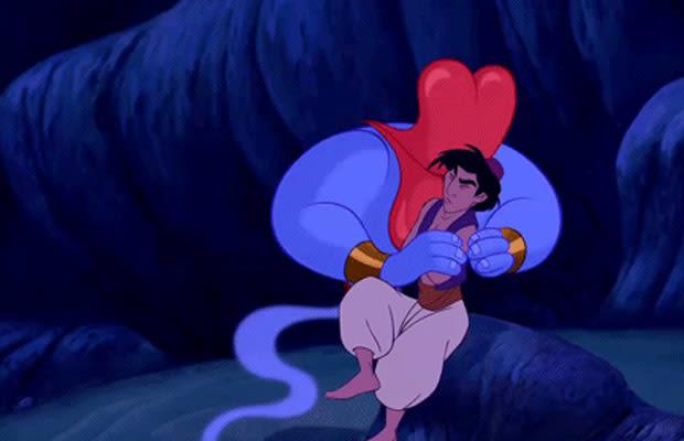 The Genie S Gay Joke In Aladdin 1992