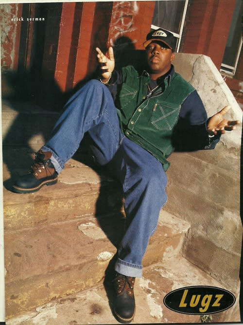 erick sermon for lugz the 90 best hiphop fashion ads of