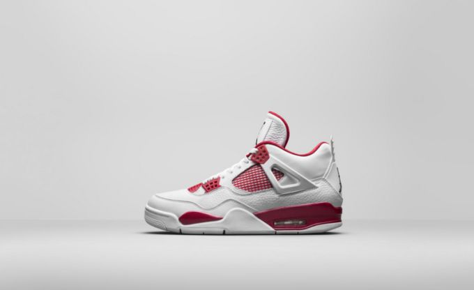 "huge selection of 2e210 b0b39 Color  Game Royal White Style Code  N A Price   250. Air Jordan IV  ""Alternate"""