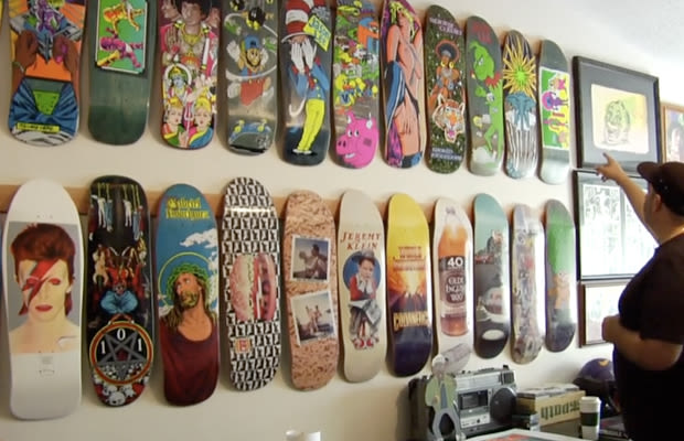 the craziest skateboard collection we u0026 39 ve ever seen