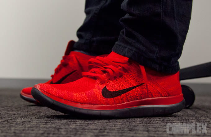 4 0 Nike mooienschede Flyknit nu Red wf5Hq5E0