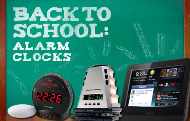 Back To School The 10 Best Alarm Clocks Complex