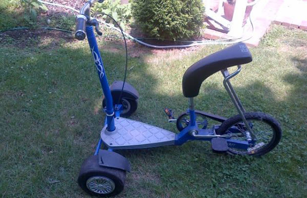Buy This Limited Edition Snoop Dogg Trike With Spinners On