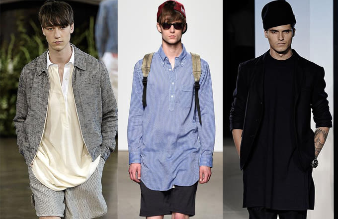Men Fashion Trends 2015 Menswear Trends We Saw at