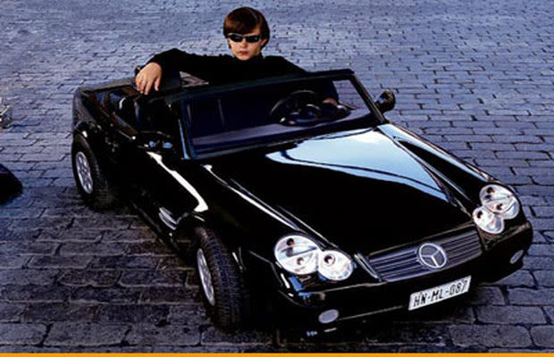 10 Really Bad Luxury Cars That Will Make You Weep: F-15 Mini Speed Boat - The 25 Craziest Kids Cars