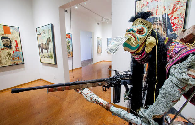Visual Language in the Works by Renowned Artists in a Bi-Coastal Group Show