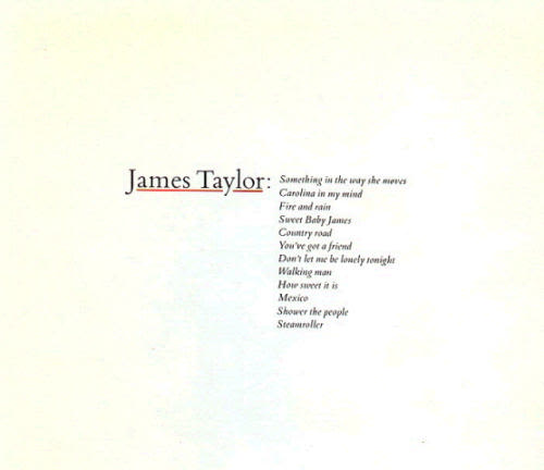 James Taylor Greatest Hits Volume 1