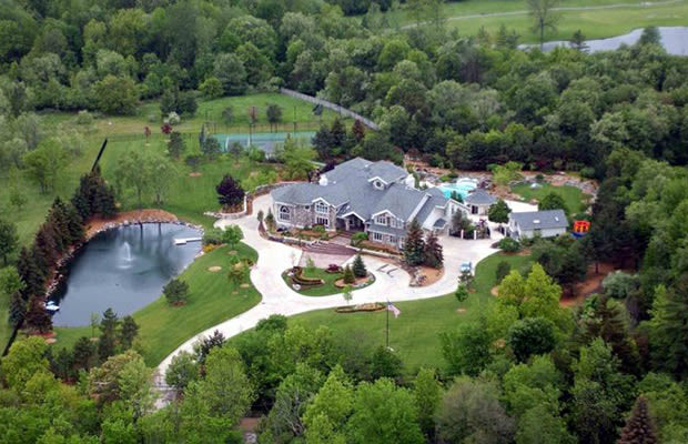 Location Oakland County Eminem House And Cars