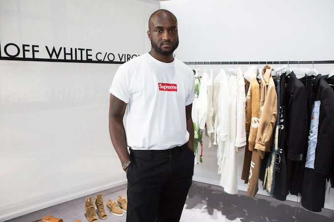 Virgil abloh explains why supreme has the best graphic for Off white virgil abloh