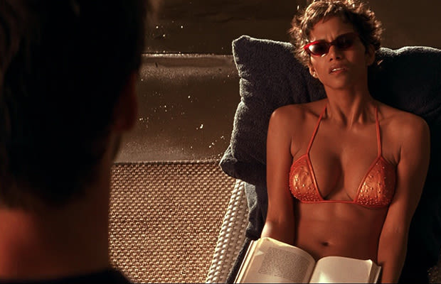 Join. halle berry swordfish topless