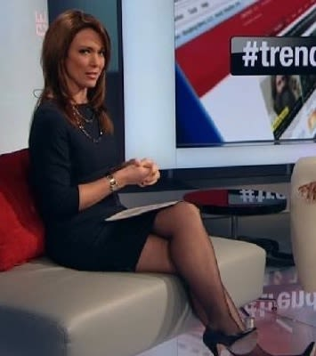 Doubt. Has best newscaster upskirt something
