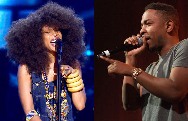 kendrick lamar dating badu Kendrick lamar ludacris meek mill  common confirms erykah badu's box is the holy  common also went on to talk about his current dating status as well as.