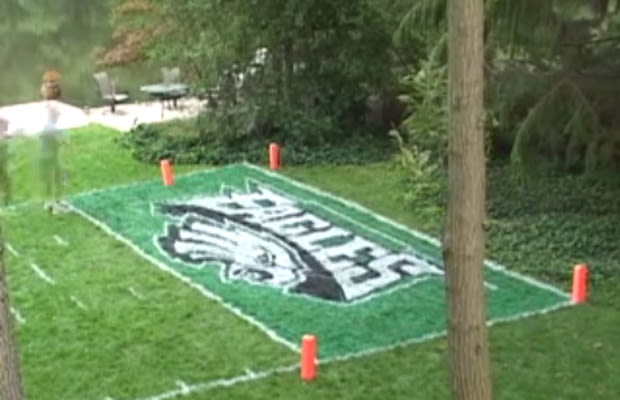 Football Field In Your Backyard : Philadelphia Eagles  Awesome FanMade Football Fields  Complex