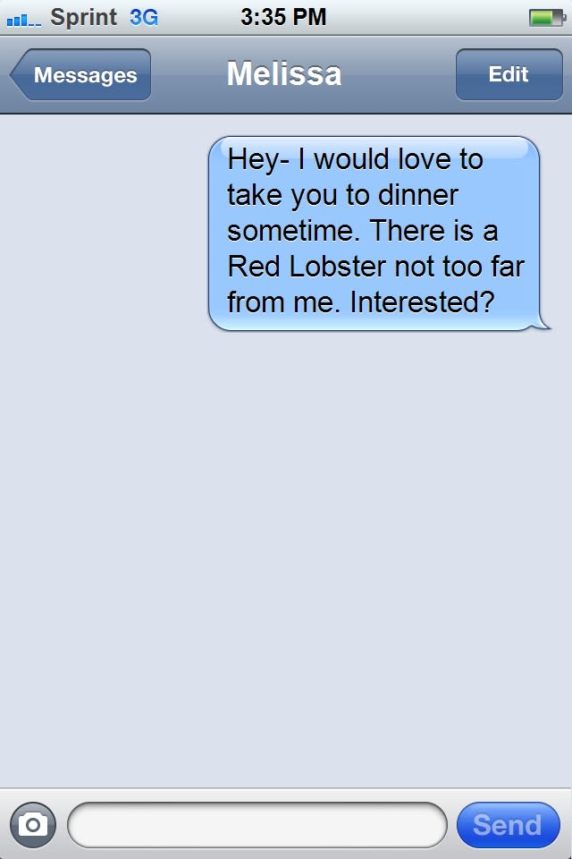 How to text a girl on dating site