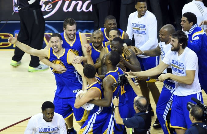 The Warriors Have Been Waiting Six Long Months to Sing