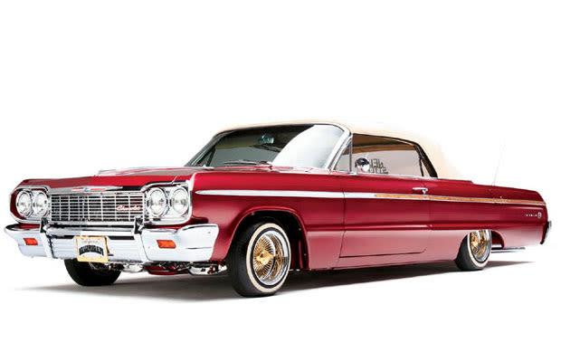 Chevy Impala Gangster Lowrider 1964   Car Interior Design