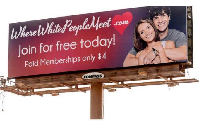 WhitePeopleMeet Billboard Making History in Utah