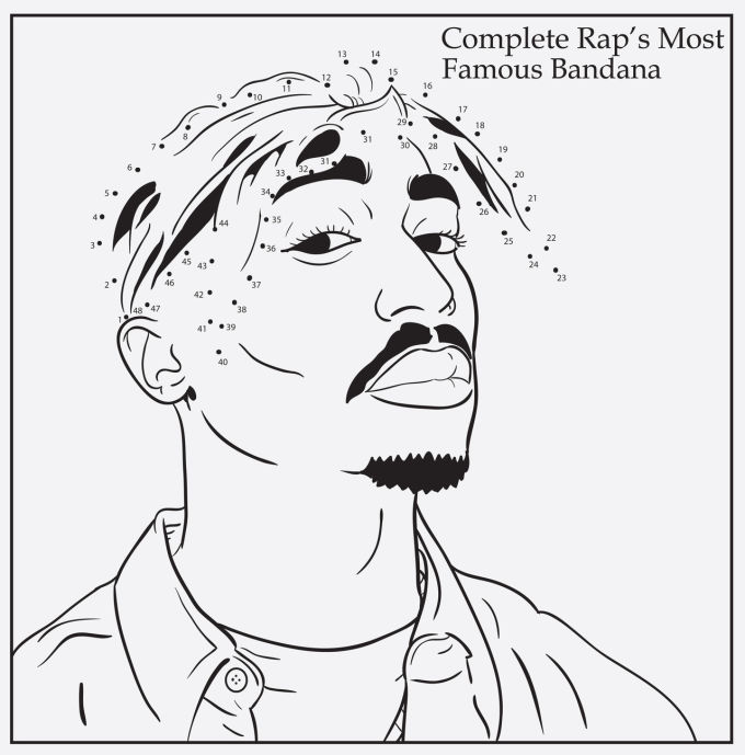 gallery images and information kendrick lamar coloring pages
