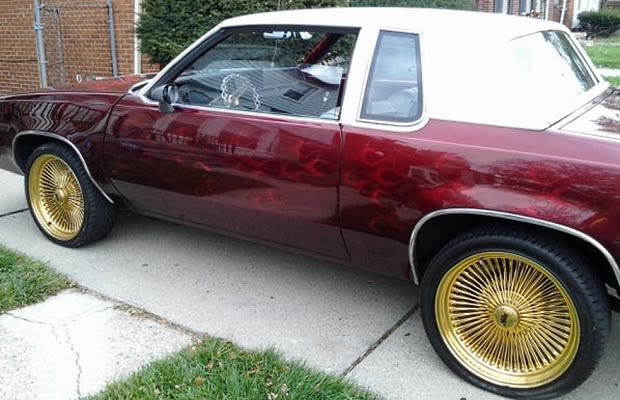 1986 Oldsmobile Cutlass Candypainted Custom