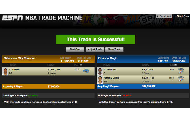 nbatrade machine