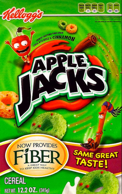 90s cereal - apple jacks