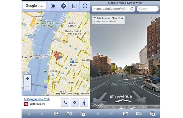 Google Maps Street View Returns to iPhone & iPad