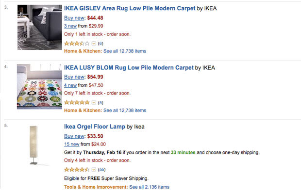 you can now buy ikea products on amazon complex. Black Bedroom Furniture Sets. Home Design Ideas