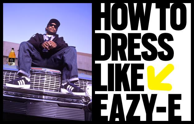Eazy E Hairstyle: How To Dress Like Eazy-E