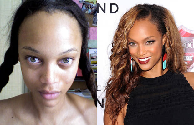 Tyra Banks 30 Shocking Photos Of Hot Celebrities Without