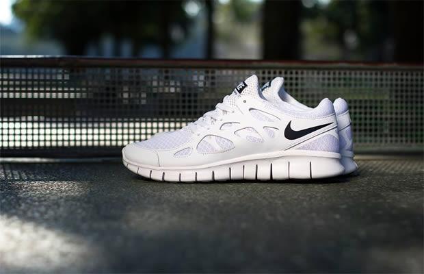 free run 2 white