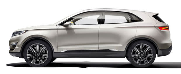 Lincoln motor company unveils new crossover concept complex for Lincoln motor company news