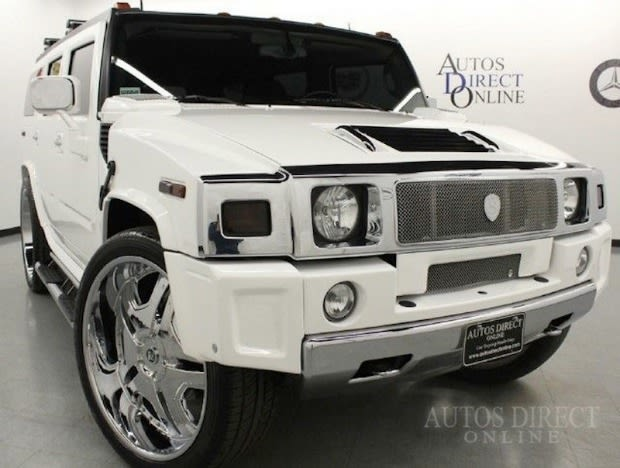 The 2003 Hummer H2 That Lebron James Drove In High School