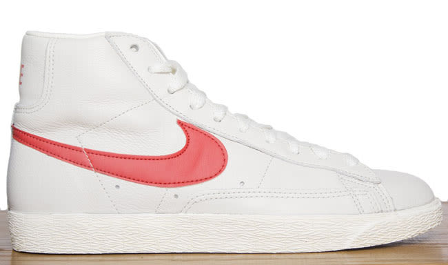 nike high tops red and white