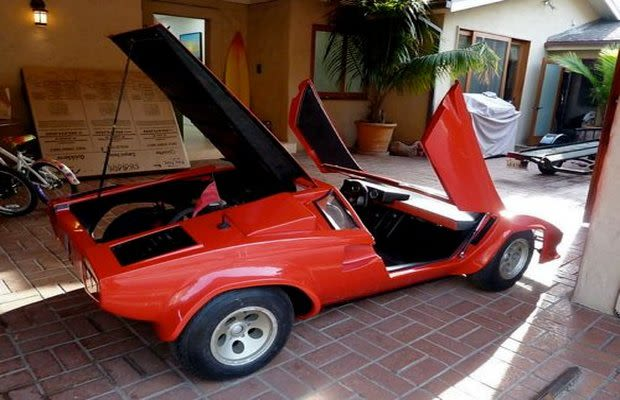lamborghini countach go kart the 25 craziest kids cars complex. Black Bedroom Furniture Sets. Home Design Ideas