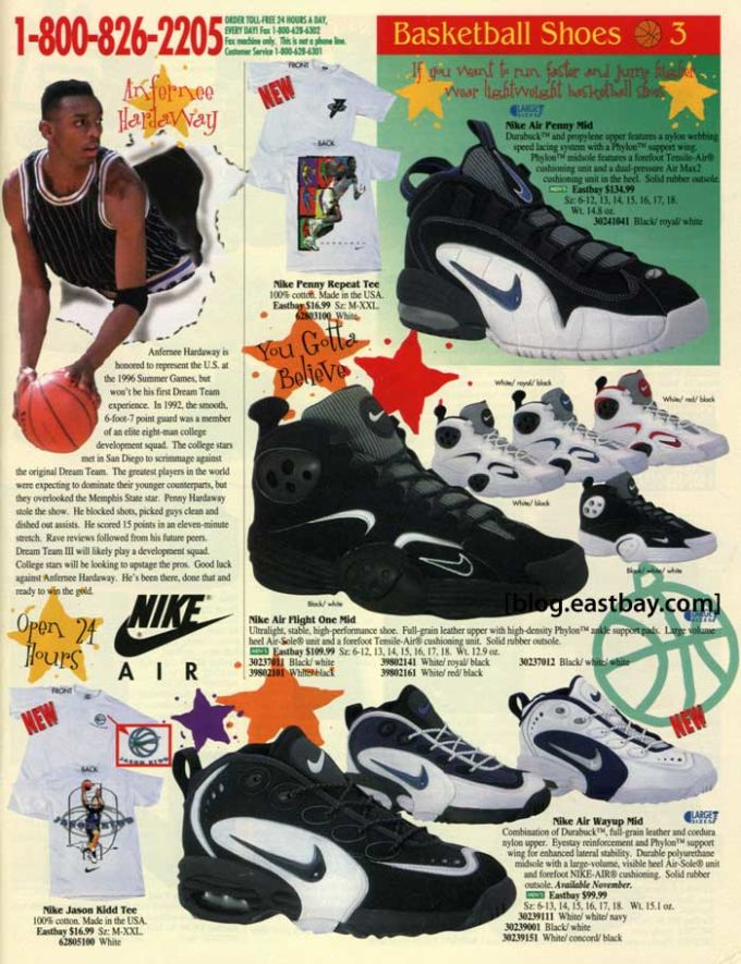 Nike Air Griffey Max 25 Classic Sneakers From Vintage