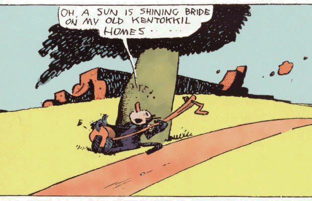 """surrealism in krazy kat a comic strip by george herriman Krazy kat seems like a comic strip that's responding to years of tired  suggest  the modernist movement, whether or not george herriman  many people are  familiar with rene magritte """"the treachery of images,"""" a surrealist."""