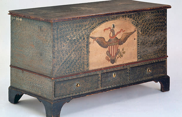 pennsylvania blanket chest 10 pieces of early american