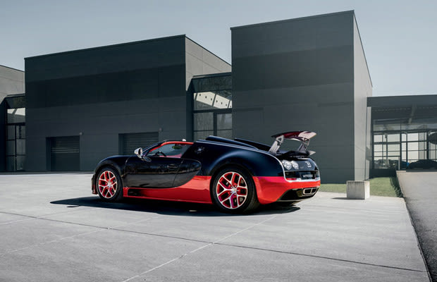 black and red the complete history of the bugatti veyron. Black Bedroom Furniture Sets. Home Design Ideas