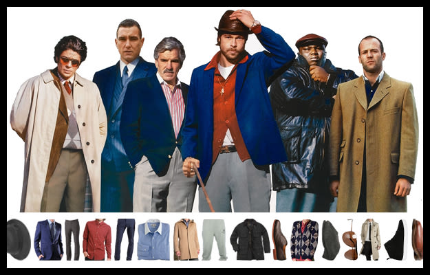 how to dress like the characters from snatch complex
