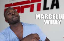 This is a video of Marcellus Wiley being interviewed about Drake and Kendrick Lamar's almost beef.
