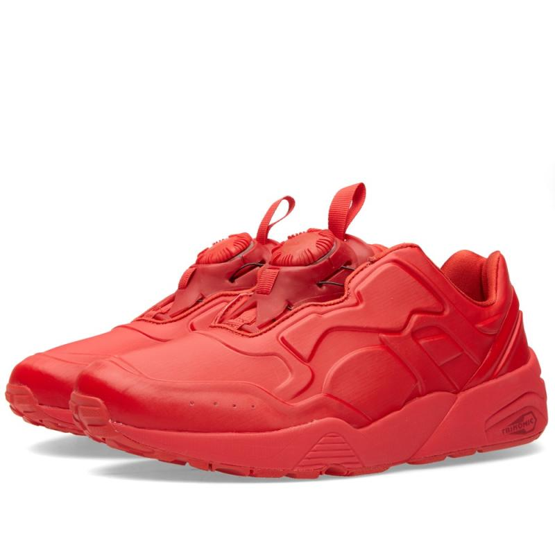 puma disc blaze all red
