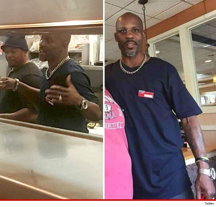 DMX Hung Out With Some Chefs At An IHOP Because He Was So