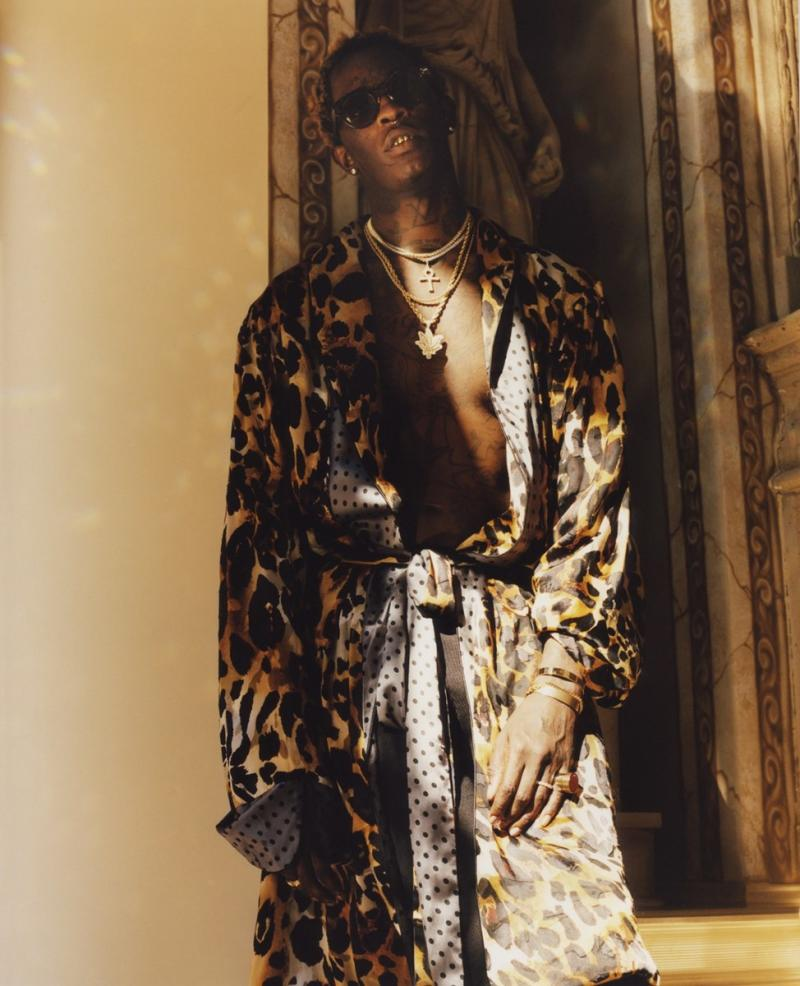 Young Thug Wears Dress On Dazed Magazine Cover Complex