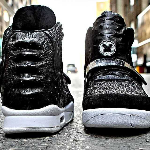 Nike Air Yeezy 2 Customs For Diddy