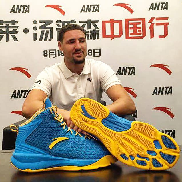 Klay Thompson Saw His Second Signature Shoe and He's Still Not ...