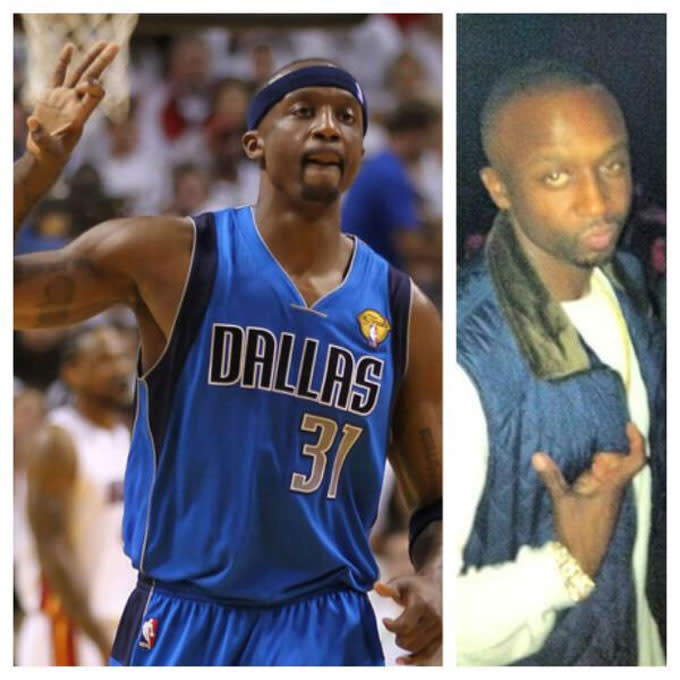 Did Jason Terry Throw Up the Crip Sign Tonight After