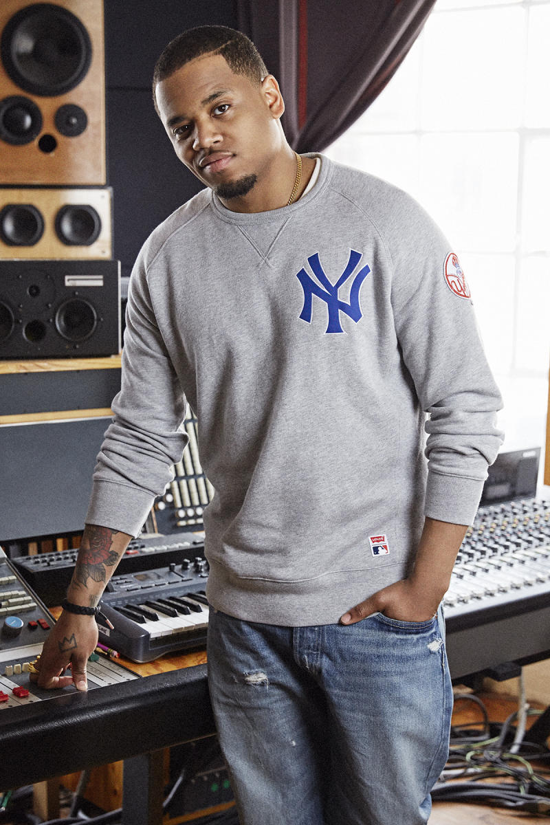 Exclusive Mack Wilds Models The New Levi S X Mlb New York